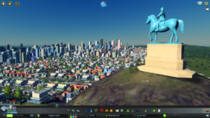 Cities:Skylinesです。